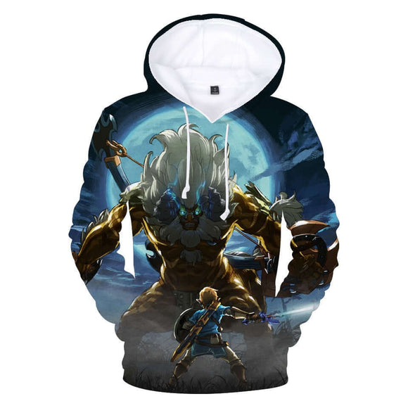 The Legend of Zelda: Breath of the Wild Game Series 3D Hoodie