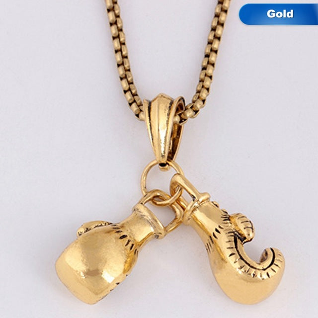 Boxing Gloves Necklace - Shop For Gamers