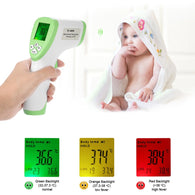 Digital Thermometer IR Infrared Thermometer Non-contact Forehead Body - Shop For Gamers