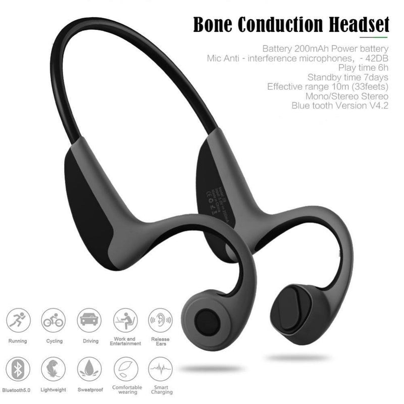 Headset Neck-Strap Headphone Bone Conduction - Shop For Gamers