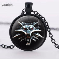 The Witcher 3 Cabochon Crystal Necklace - Shop For Gamers