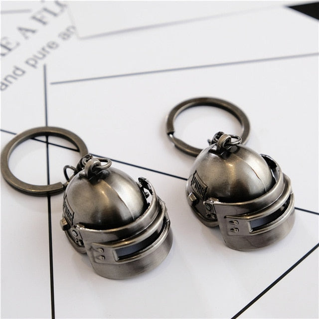 ROMAD PUBG Level 3 Helmet Keychain - Shop For Gamers