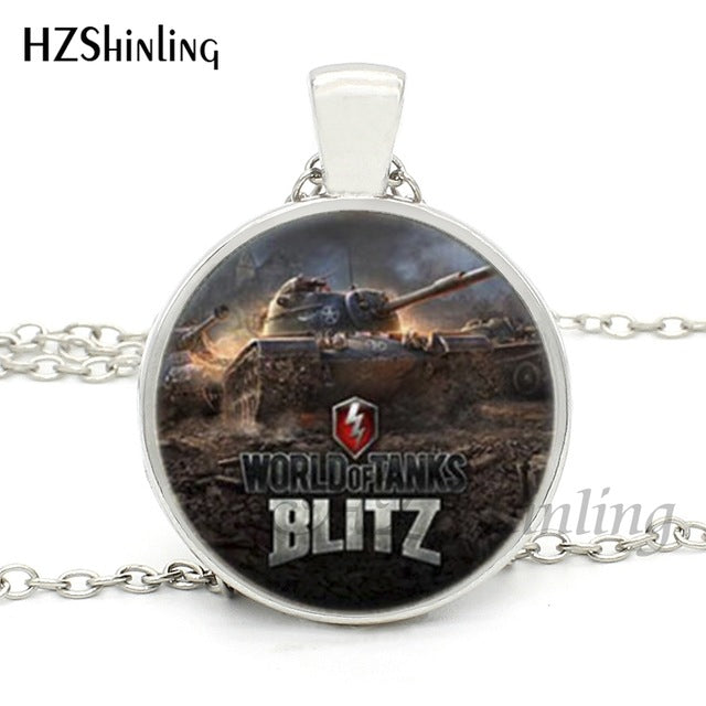 World of Tanks BLITZ Glass Dome Necklace - Shop For Gamers