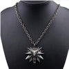 The Witcher 3 Games Wolf Pendants Necklace - Shop For Gamers