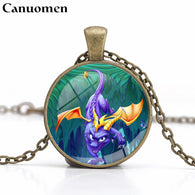 Spyro the Dragon Pendant Necklace - Shop For Gamers