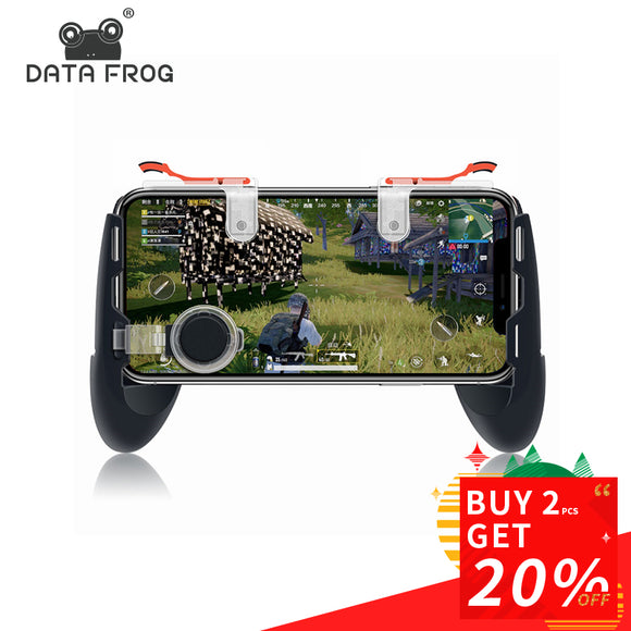 Data Frog For Pubg Game Gamepad For Mobile Phone Game Controller - Shop For Gamers