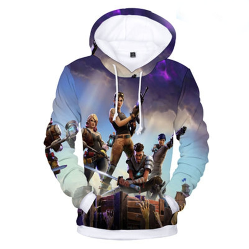 Fortnite Battle Royale Hoodie KK144 - Shop For Gamers