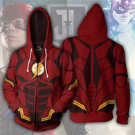 Superhero Anime Flash Printed Hoddie 02 - Shop For Gamers