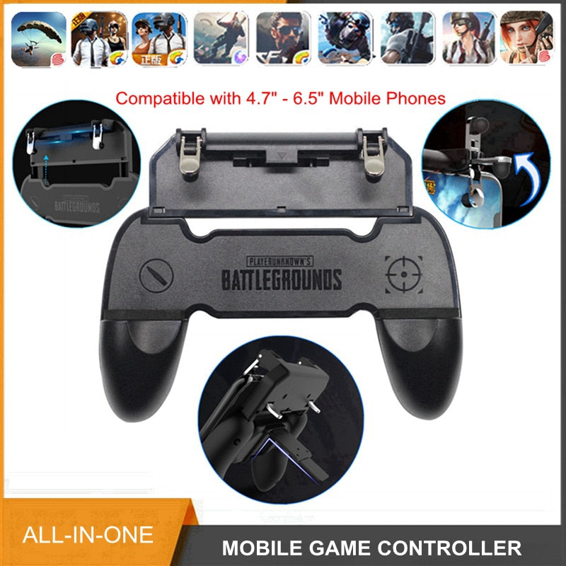 All in One Mobile Gaming GamePad - Shop For Gamers