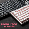 DURGOD Pudding Keycaps 104 Keys Keyboard - Shop For Gamers