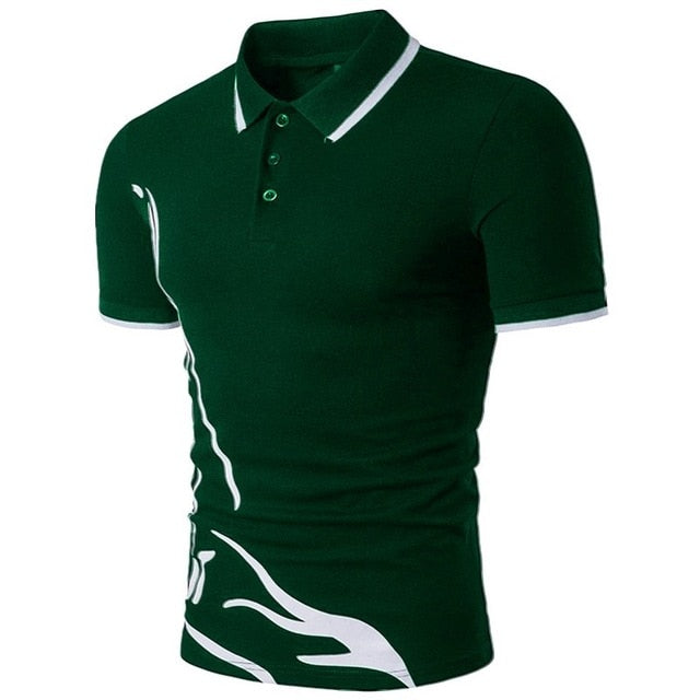 ZOGAA Anti-Shrink Summer Polo Shirt - Shop For Gamers