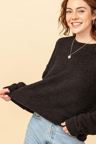 On Repeat Sweater, Black