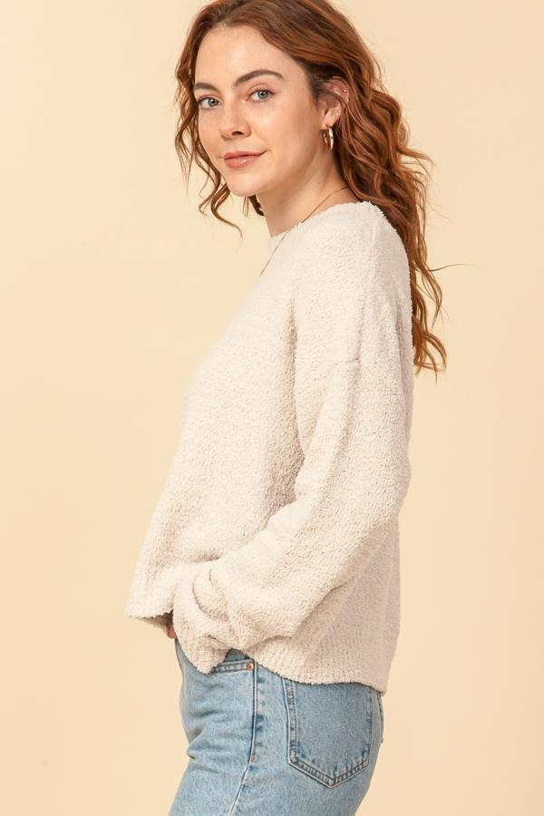 On Repeat Sweater, Ivory