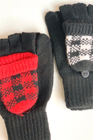 Plaid Popover Gloves