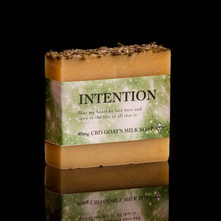 goats milk magical soap intention