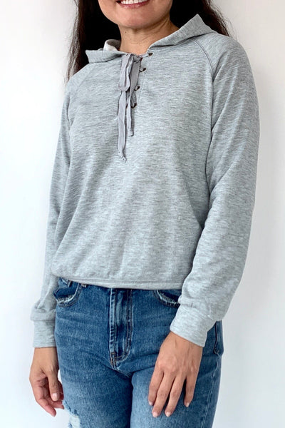 Lace It Up Hoodie