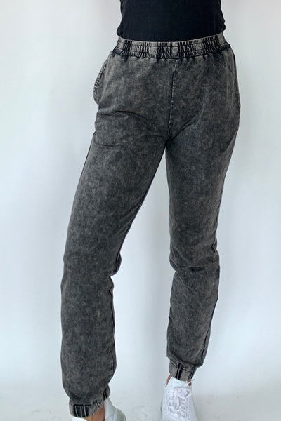 Washed Over Jogger Pant