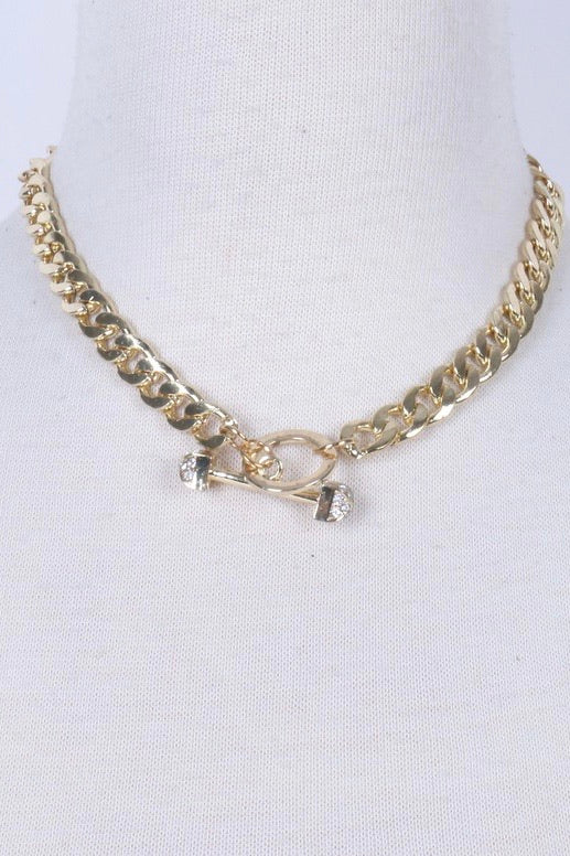 Cuban Gold Link Necklace