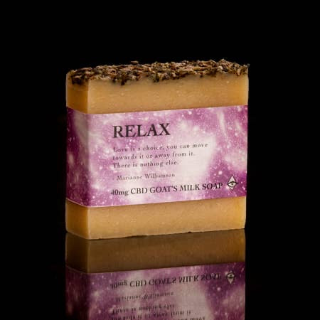 goats milk magical soap relax