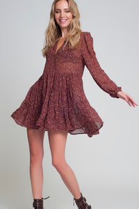 Hey Girl Babydoll Chiffon Dress