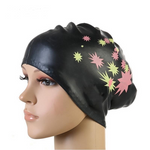 Doracy - Doracy  New Design Adult Silicone Elastic Waterproof Swimming Hats Long Hair and  Ear Protection Sports Swim Pool Cap for Men and Women Free size - Bracelets, Caps Hats  New Design Adult Silicone Elastic Waterproof Swimming Hats Long Hair and  Ear Protection Sports Swim Pool Cap for Men and Women Free size - Caps Hats Swimming Swimming Running Cycling  Fashion