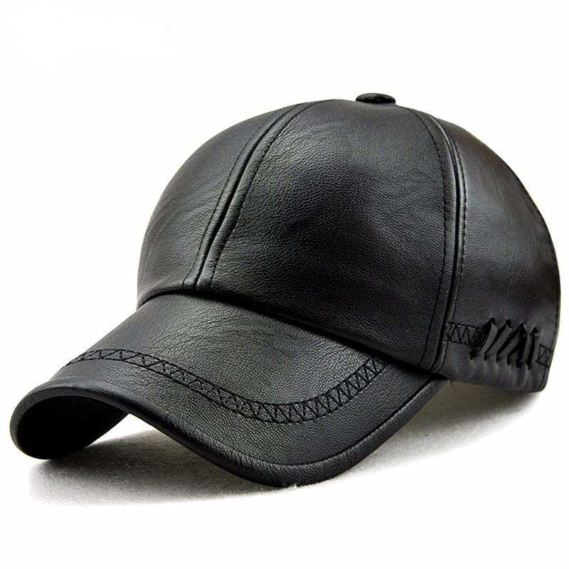 Doracy - Doracy  High quality  Faux Leather Baseball Cap  For Men and Women (Unisex) snapback Casual hat Cap - Bracelets, Caps Hats  High quality  Faux Leather Baseball Cap  For Men and Women (Unisex) snapback Casual hat Cap - Caps Hats Caps Hats Swimming Running Cycling  Fashion