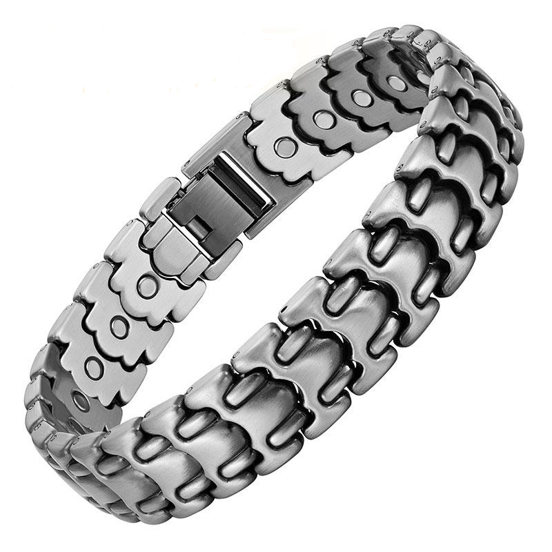 Doracy - Doracy  New Arrival 26 pcs (Magnets) Stainless Steel Magnetic Therapy  Bracelet For Pain Relief And Arthritis - Bracelets, Caps Hats  New Arrival 26 pcs (Magnets) Stainless Steel Magnetic Therapy  Bracelet For Pain Relief And Arthritis - Caps Hats  Swimming Running Cycling  Fashion