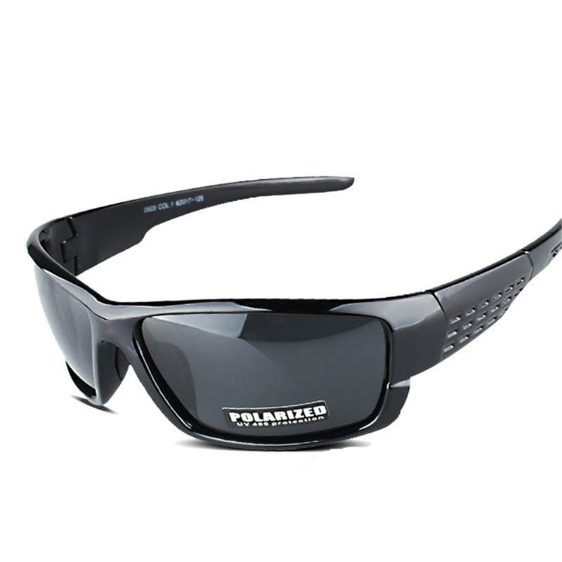 0bd3fe79747 Doracy - Doracy New Arrival Retro Black Polarized Sports Sunglasses For men  And Women With 100