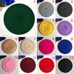 Doracy - Doracy  French Style Classic Color 100% Solid Wool Beret  for Girls And Boys Beanie Cap For Kids of Age 2-8 Years - Bracelets, Caps Hats  French Style Classic Color 100% Solid Wool Beret  for Girls And Boys Beanie Cap For Kids of Age 2-8 Years - Caps Hats Caps Hats Swimming Running Cycling  Fashion