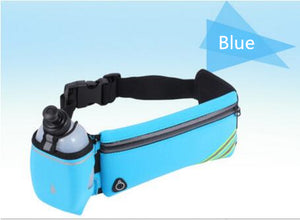 Doracy - Doracy  Sweat Proof Running Waist Bag With Bottle Holder Mobile Phone and Accessories  Storage. Ideal For Running, Jogging, And Other Outdoor Sports Activities - Bracelets, Caps Hats  Sweat Proof Running Waist Bag With Bottle Holder Mobile Phone and Accessories  Storage. Ideal For Running, Jogging, And Other Outdoor Sports Activities - Caps Hats Universal Sports Swimming Running Cycling  Fashion
