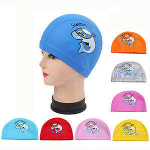 Doracy - Doracy  Children Swimming Caps With Ears and Long Hair Protection For for Boys Girl - Bracelets, Caps Hats  Children Swimming Caps With Ears and Long Hair Protection For for Boys Girl - Caps Hats Swimming Swimming Running Cycling  Fashion