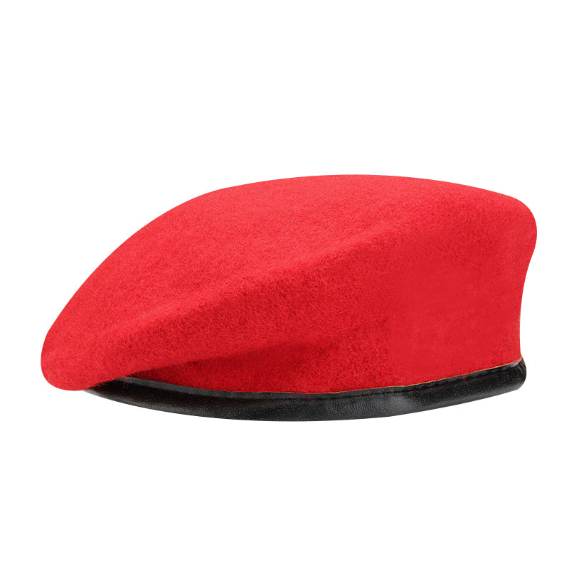 Doracy - Doracy  High Quality Unisex Military aArmay Soldier Solid Wool Beret For Uniform And Paramilitary Men And Women - Bracelets, Caps Hats  High Quality Unisex Military aArmay Soldier Solid Wool Beret For Uniform And Paramilitary Men And Women - Caps Hats Caps Hats Swimming Running Cycling  Fashion