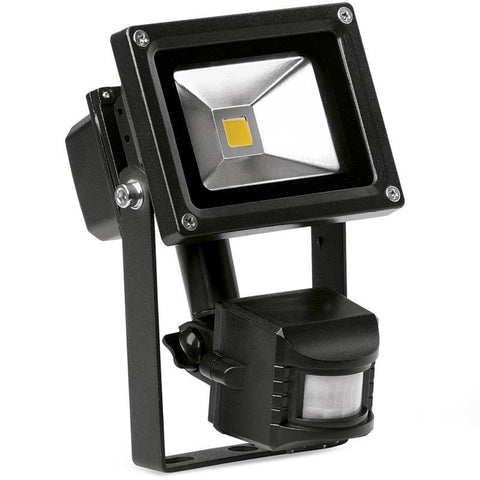 HELIUSPIR™ 10W ADJUSTABLE IP65 LED FLOODLIGHT WITH PIR SENSOR
