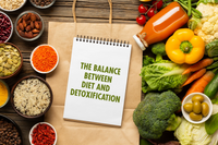 The balance between diet and detoxification