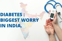 Diabetes : Biggest worry in India