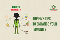Top five tips to enhance your Immunity
