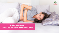 8 natural ways to get relief from menstrual pain.
