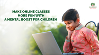 Make online classes more fun with a mental boost for children