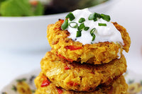 Taste from the Roots - Cauliflower chikpea patties