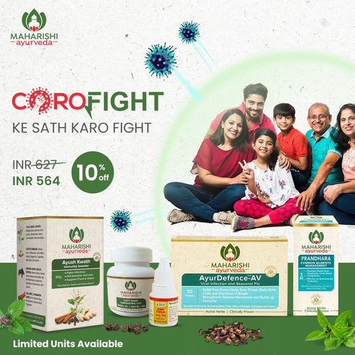 CoroFight Combo - Strongest Protection For Your Family - Maharishi Ayurveda