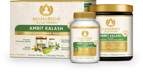 Maharishi Ayurveda Amrit Kalash-Dual Pack (600 gms Paste and 60 Tablets ) - Maharishi Ayurveda
