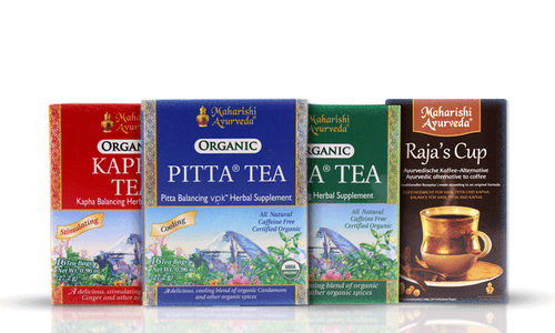 Bundle of Ayurveda Tea's - Sip of Wellness - Maharishi Ayurveda