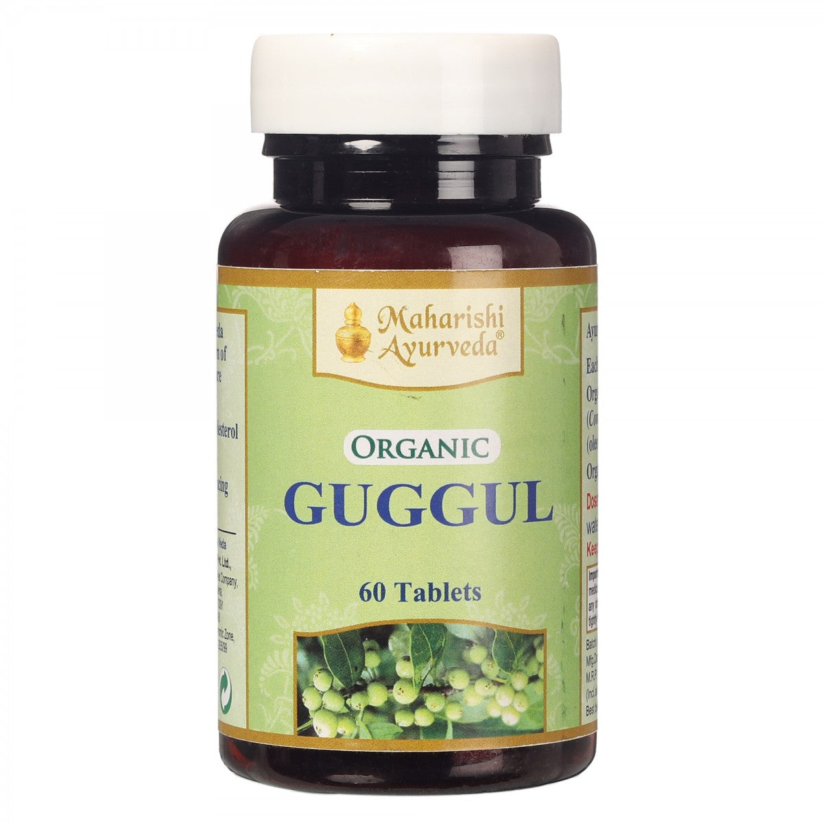 Pack of 2 Organic Guggul | 60 Tablets Pack Each - Maharishi Ayurveda
