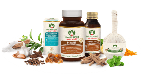 Pain Relief Therapy With Patra Potli - For Joint & Muscle Pain - Maharishi Ayurveda