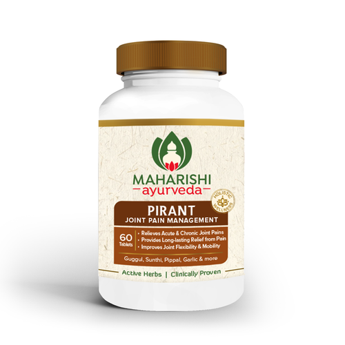 Pirant Tablets - ayurvedic medicine for joint pain | 60 Tablets Pack - Maharishi Ayurveda