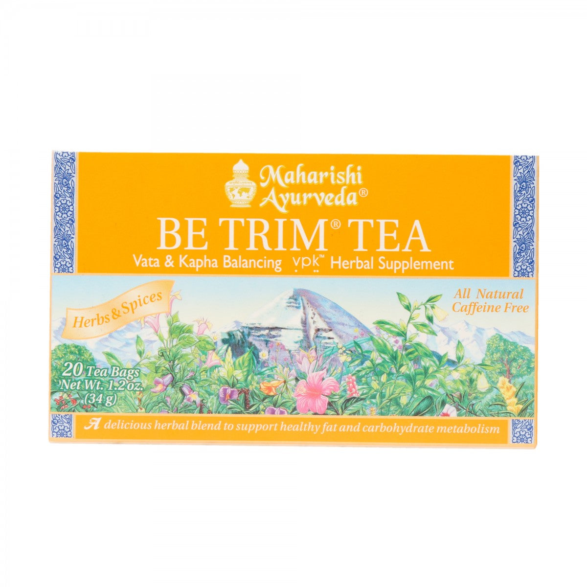 Be Trim Tea - Weight Loss Tea - Maharishi Ayurveda