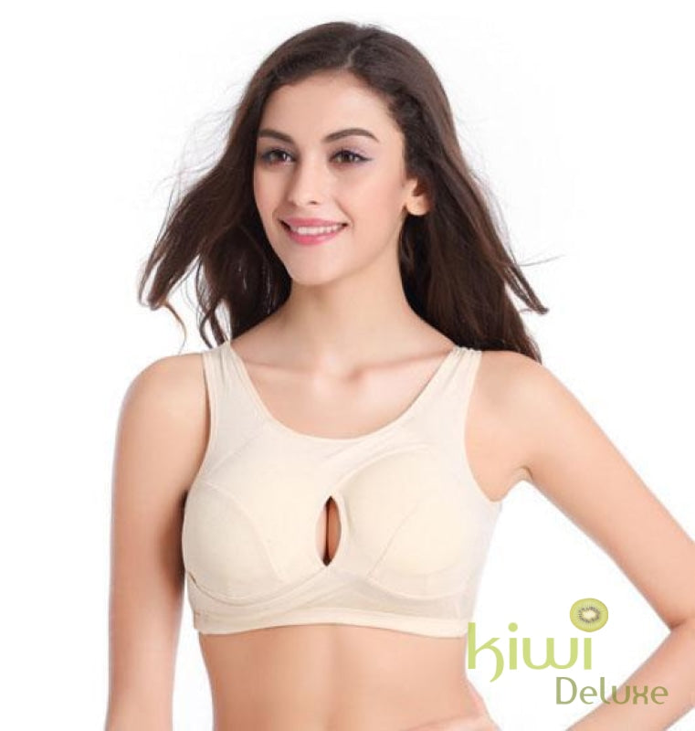 2019 New Anti-Sagging Wonder Bra M / Beige
