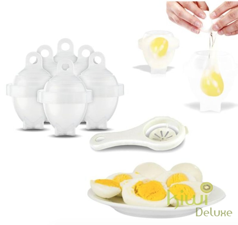 6 Pack: Egg Cookers With Bonus White Separator