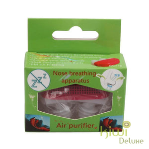 Anti Snoring Device: Blocker Red With Box