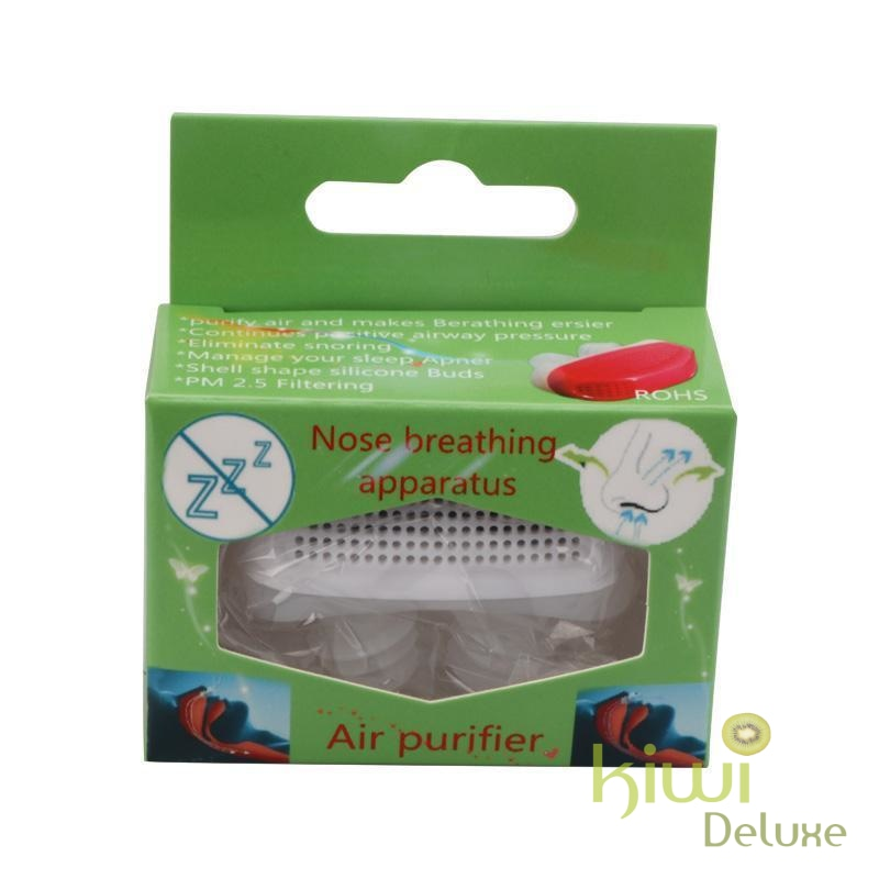 Anti Snoring Device: Blocker White With Box